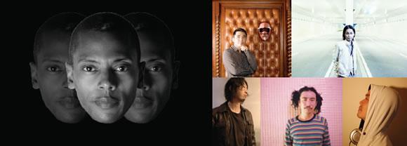 JEFF MILLS、TAKKYU ISHINO、KEN ISHII、O.N.O aka Machine Live、DJ NOBU、LOUD ONE