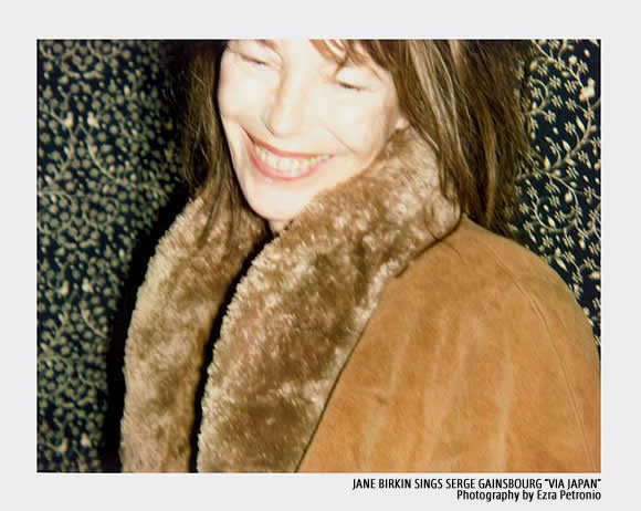 JANE BIRKIN SINGS SERGE GAINSBOURG VIA JAPAN Photography by Ezra Petronio