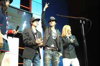 [MTV STUDENT VOICE AWARDS 2007] w-inds.